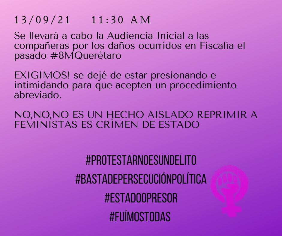 Feministas en Querétaro