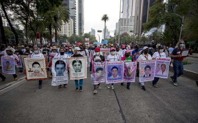 A siete años nuestra herida sigue sangrando, Ayotzinapa
