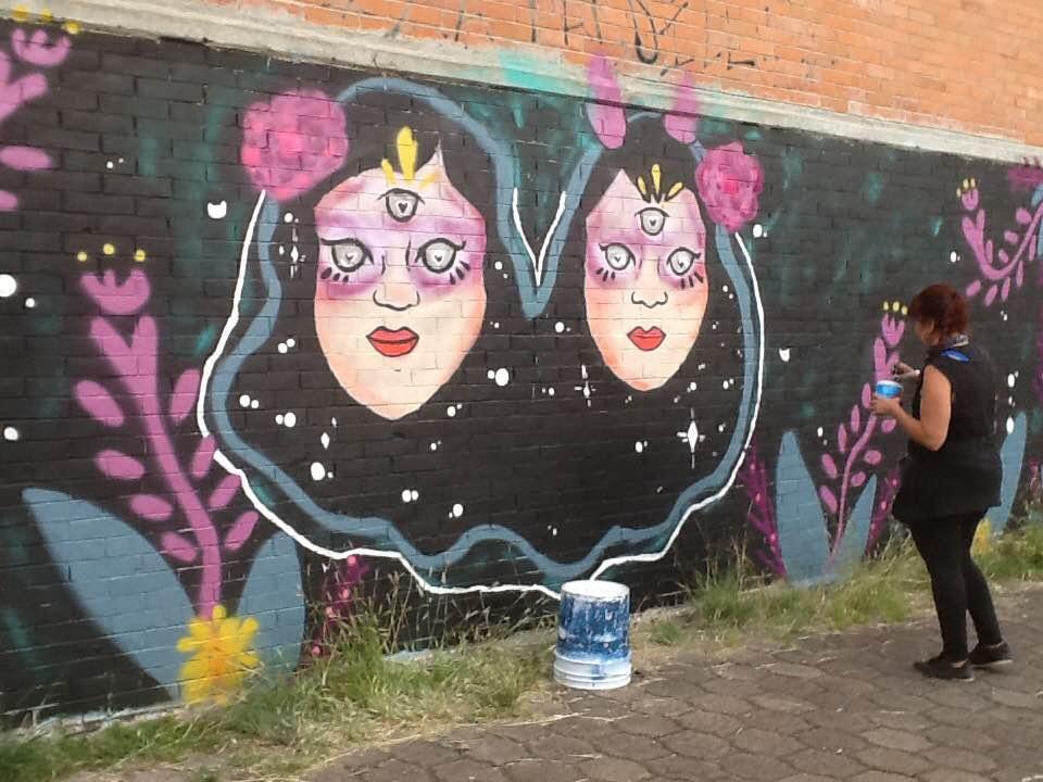 Espacio público e intervención de calle: mujeres en resistencia y grafiti antipatria ultural Femenil.